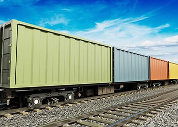 Cargo train moving on the railroad -  ©destina - fotolia.com