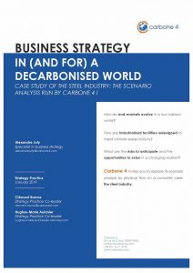BUSINESS STRATEGY IN (AND FOR) A DECARBONISED WORLD SCENARIO-BASED ANALYSIS: A POWERFUL TOOL FOR ANALYSING THE RESILIENCE OF YOUR BUSINESS